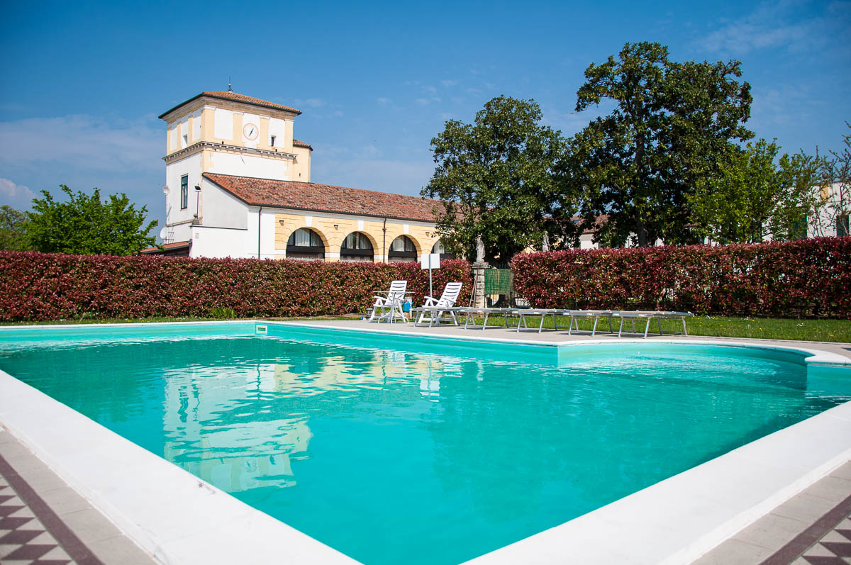 The swimming pool , Ca Beregana - Vicenza, Veneto, Italy - ©Rossi Writes (author) and ©Italy by US