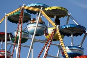 Festa dei Oto – The Amusement Park at Campo Marzo, Vicenza