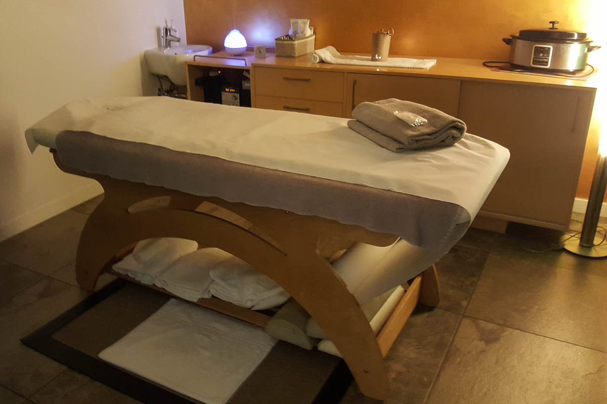 The massage room - Spa and Wellness Centre - Hotel Viest, Vicenza, Italy - www.italybyus.com