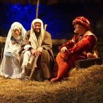 Live Nativity Scene in San Pietro in Gu