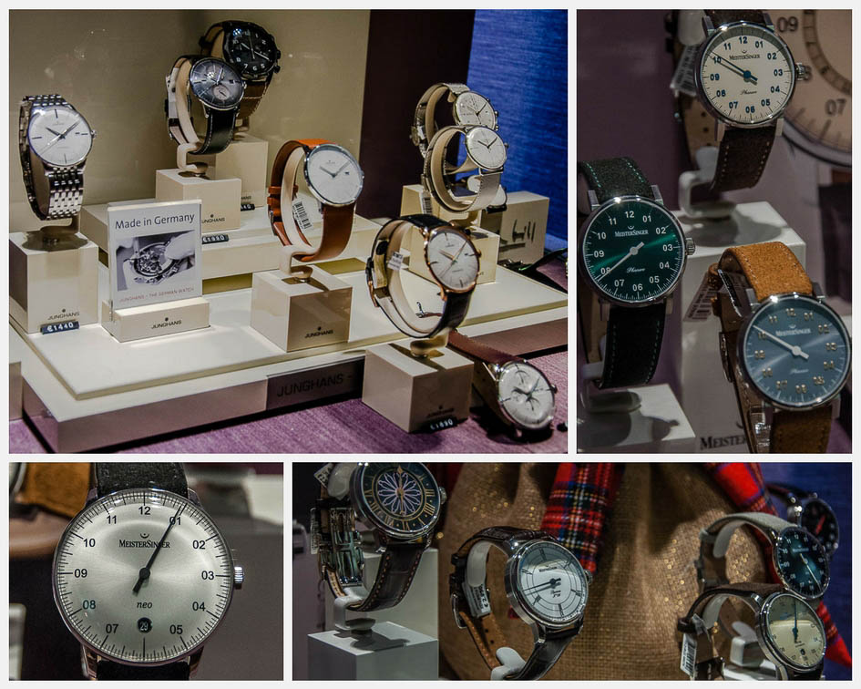 Collage - Watches - Soprana - Vicenza, Italy - www.italybyus.com
