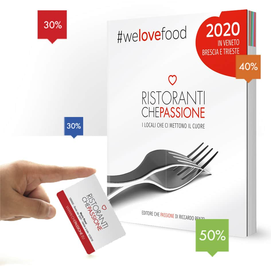 Restaurant Guide with Membership Discount Card \