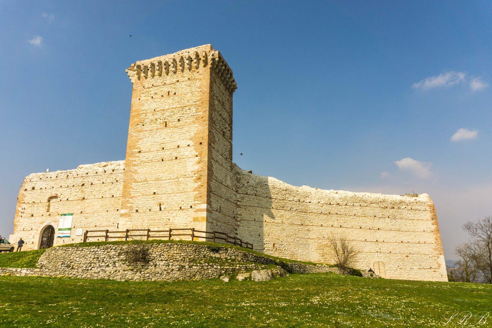 Walls of Romeo's Castle