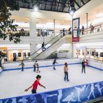 Ice skating rink at Le Piramidi Mall
