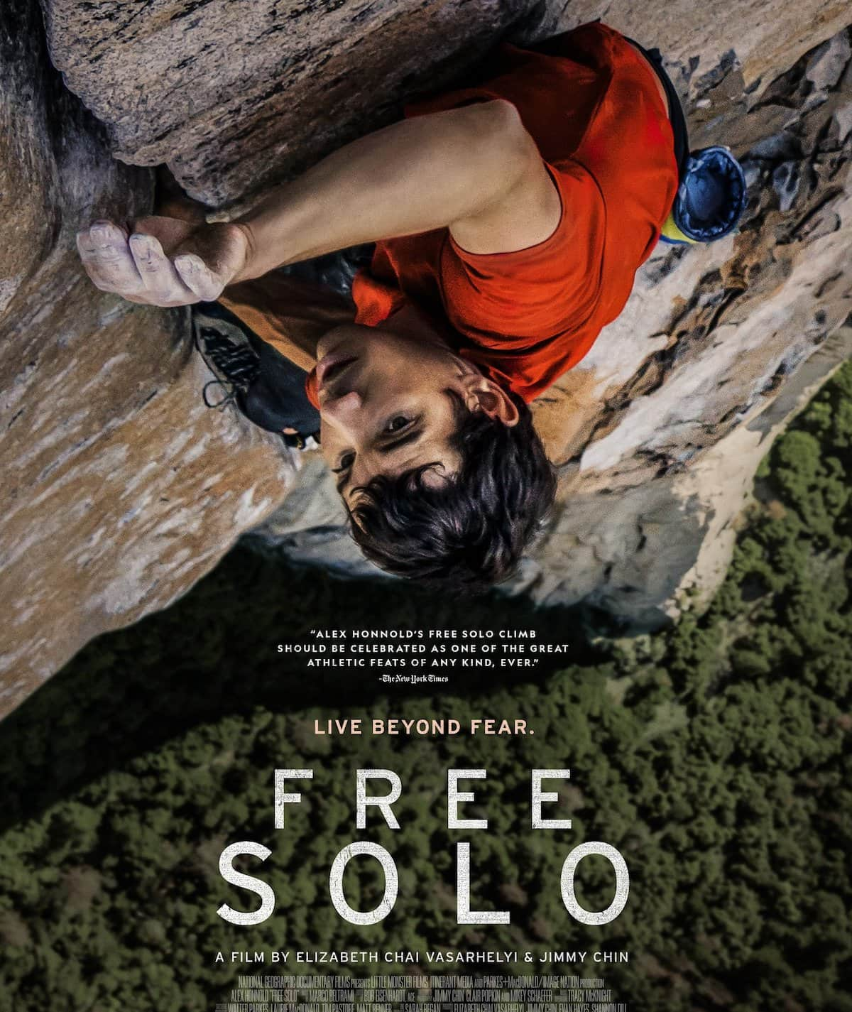 Oscar Winner FREE SOLO - Original Language - Italy by US