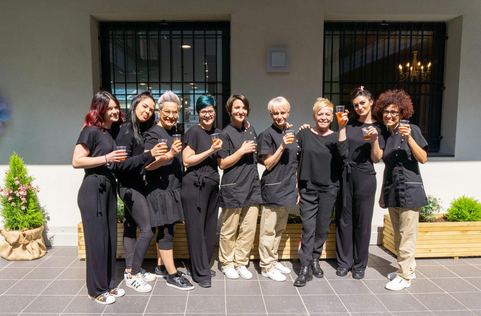 lideale hair salon, vicenza italy