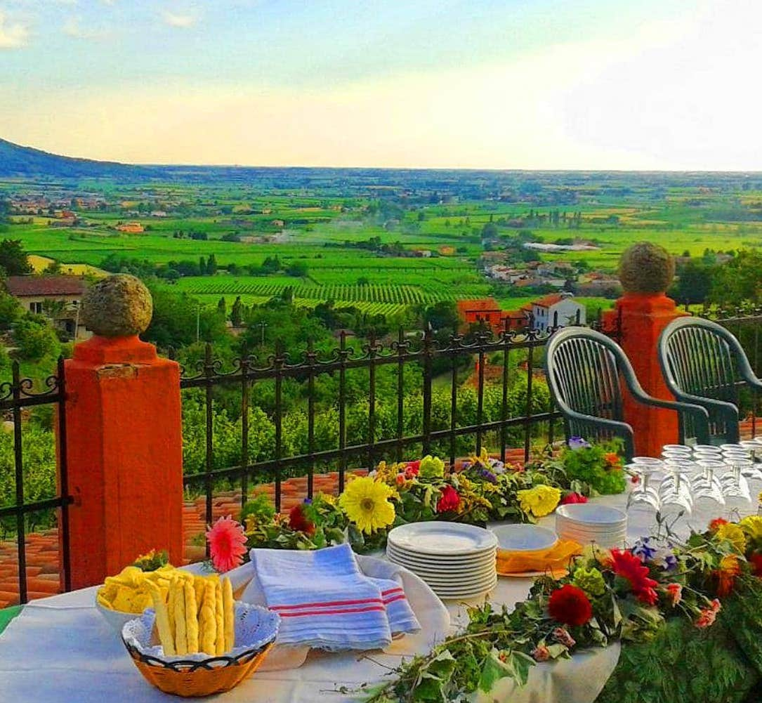 Agriturismo & Winery Monte Altore in the Euganei Hills - Italy by US