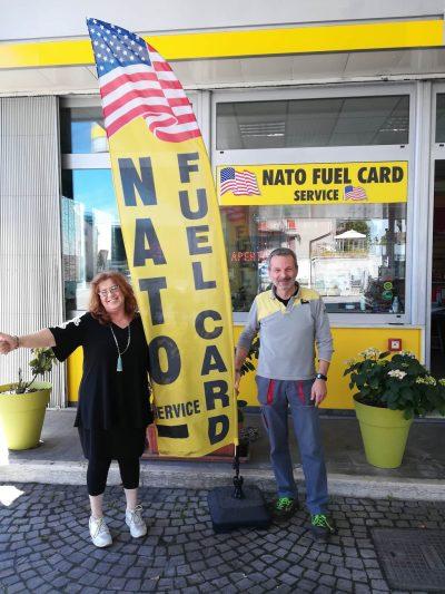 Frank & Donatella Eni Gas Station – NATO FUEL CARDS