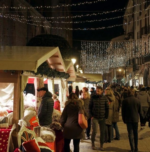 Christmas Markets downtown Vicenza