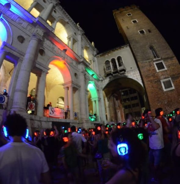 Silent Party downtown Vicenza
