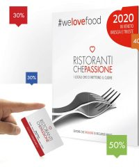"Restaurant Guide with Membership Discount Card ""Ristoranti Che Passione"""