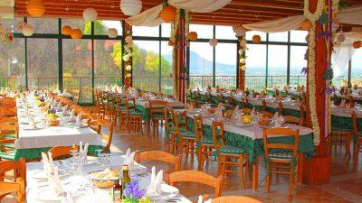 The vast window-fenced terrace